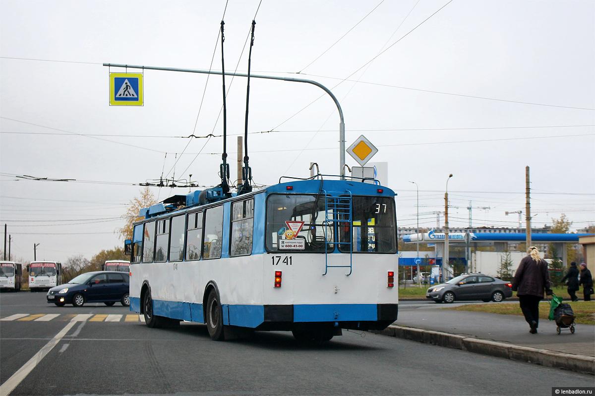 Троллейбус ЗиУ-682В № 1741