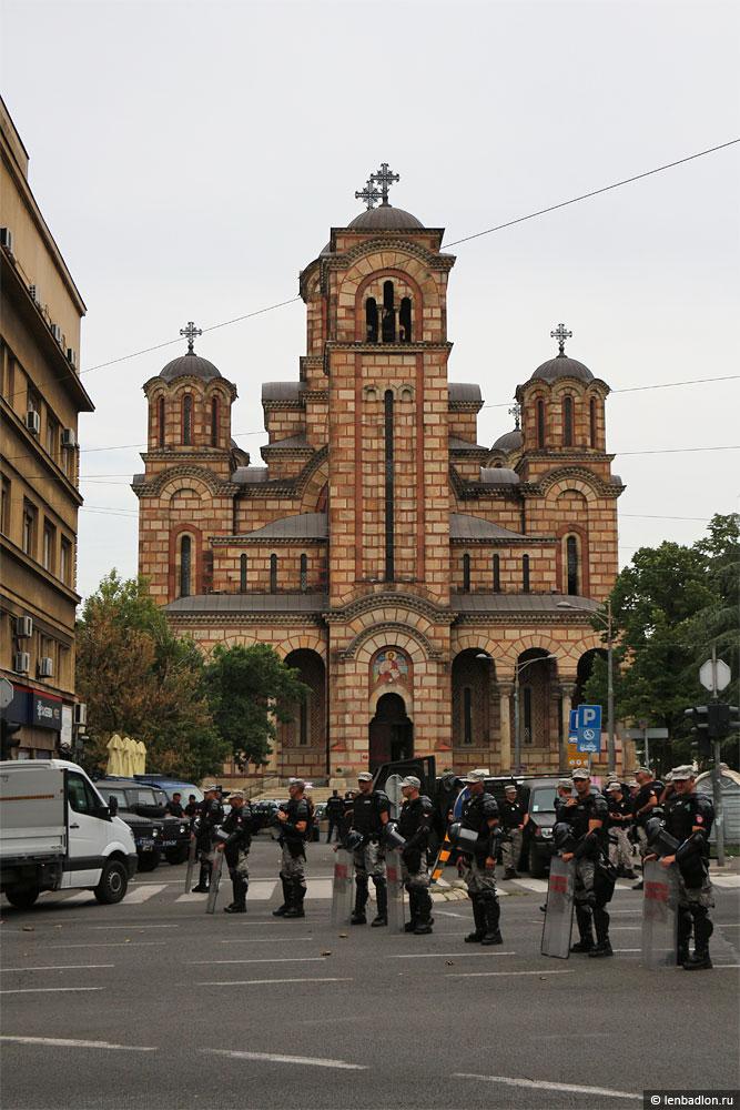 Фото церкви Святого Марка в Белграде