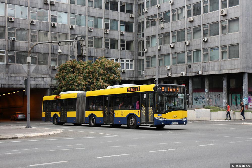 Фото Белградского автобуса