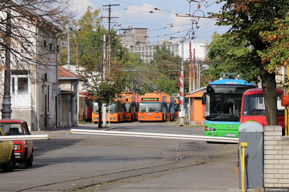 Фото троллейбусов в Белграде