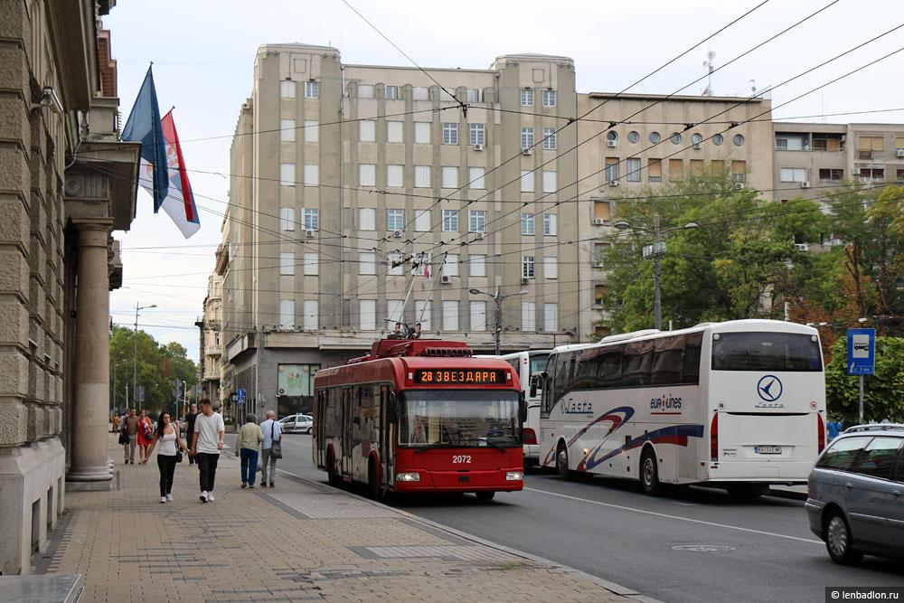 Фото Белградского троллейбуса
