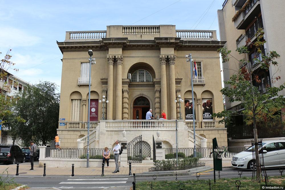 Фото музея Теслы