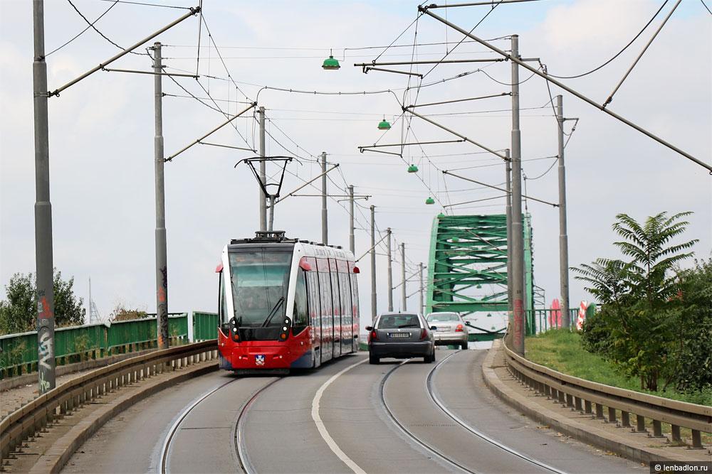 Фото трамвая в Белграде, Сербия