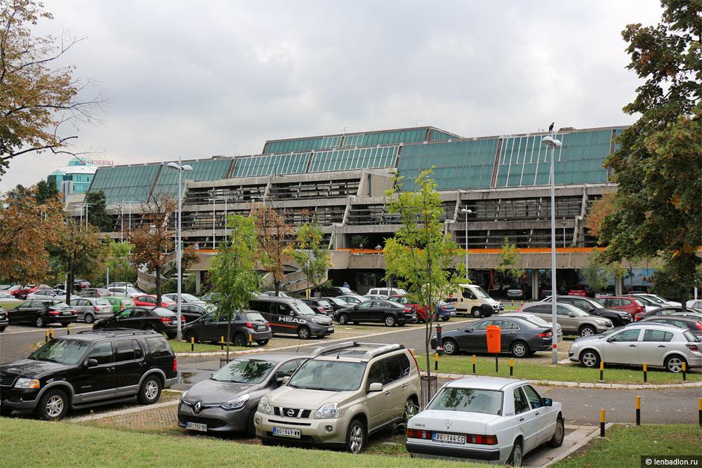 Фото Сава-центра в Белграде