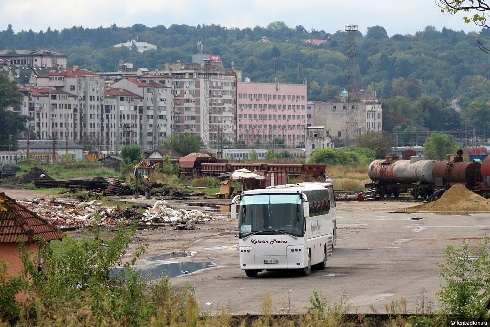 Фото автобуса в Белграде, Сербия