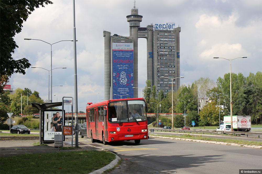 Башня Генекс в Новом Белграде