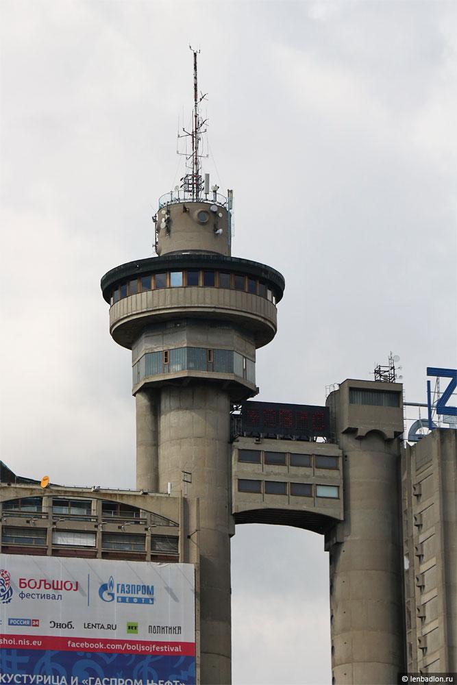 Фото Башни Генекс в Белграде