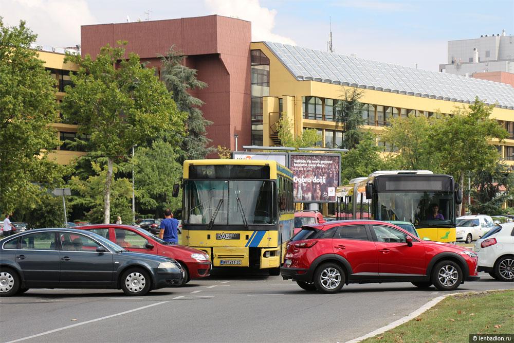 Фото автобусов в Новом Белграде