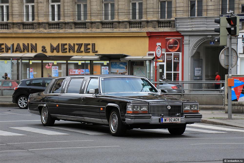 Фото Cadillac Fleetwood в Австрии