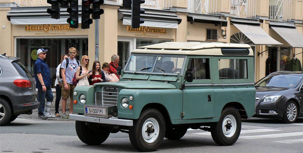 Фото автомобиля в Австрии