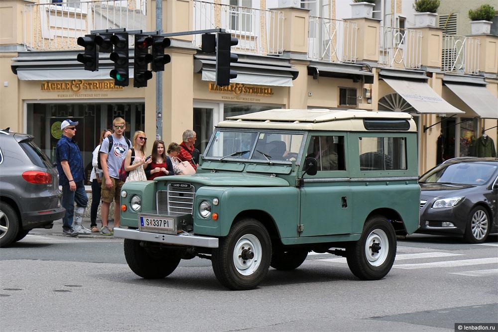 Фото Land Rover в Австрии