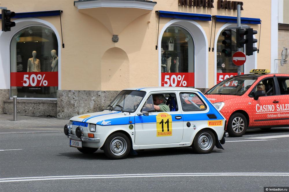 Фото Fiat 126 в Австрии