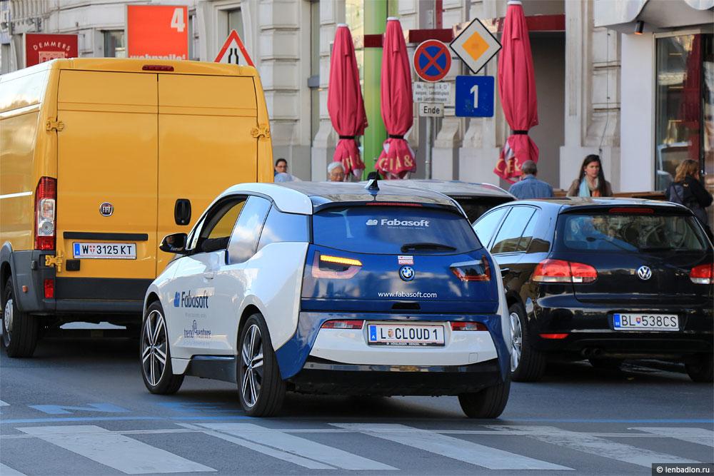 Фото BMW i3 в Австрии