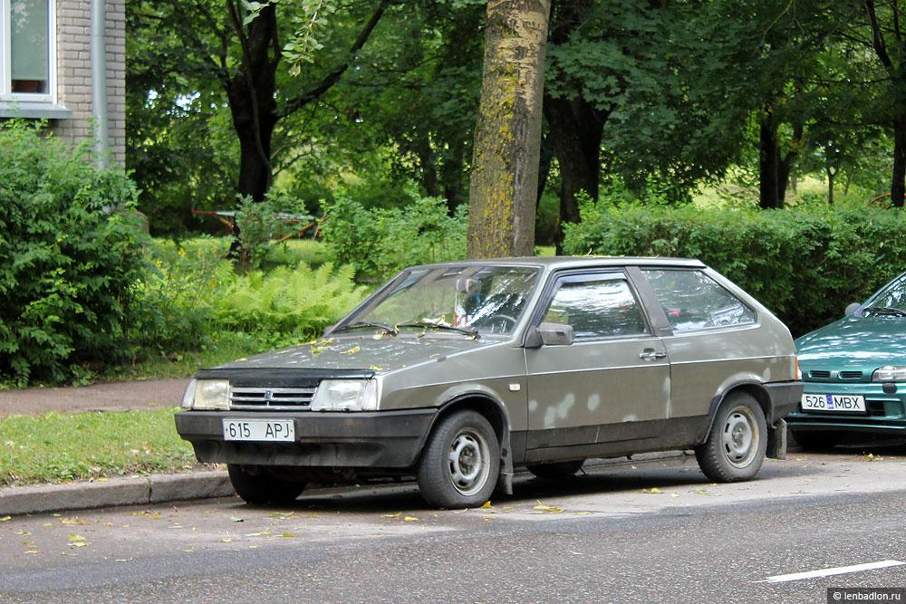 Фото ВАЗ-2108 в Эстонии