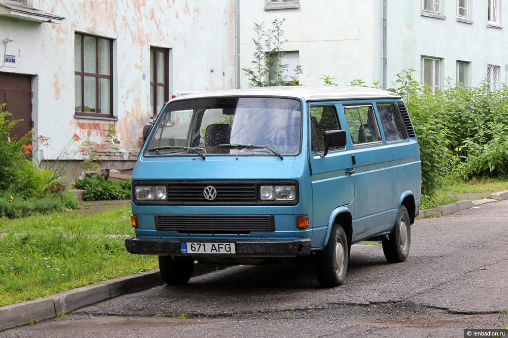 Фото Volkswagen Caravelle T3 в Эстонии