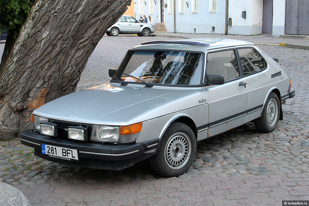 Фото Saab 900 Turbo в Эстонии