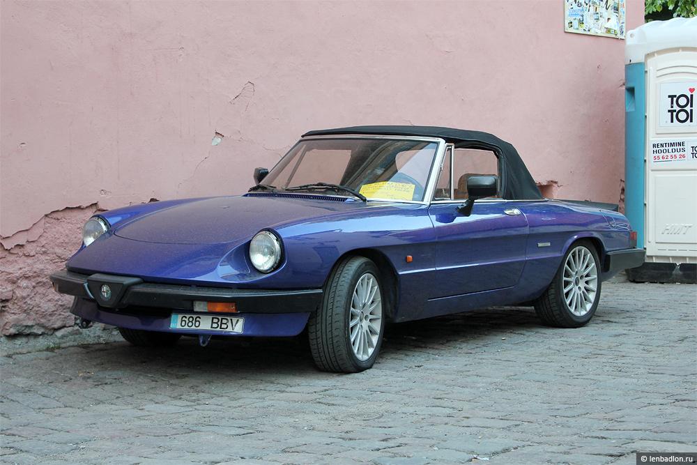 Фото Alfa Romeo Spider в Эстонии