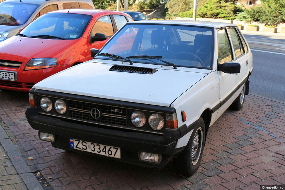 Фото автомобиля FSO Polonez в Польше