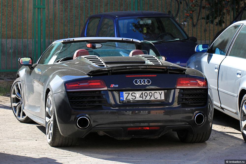 Фото автомобиля Audi R8 в Польше