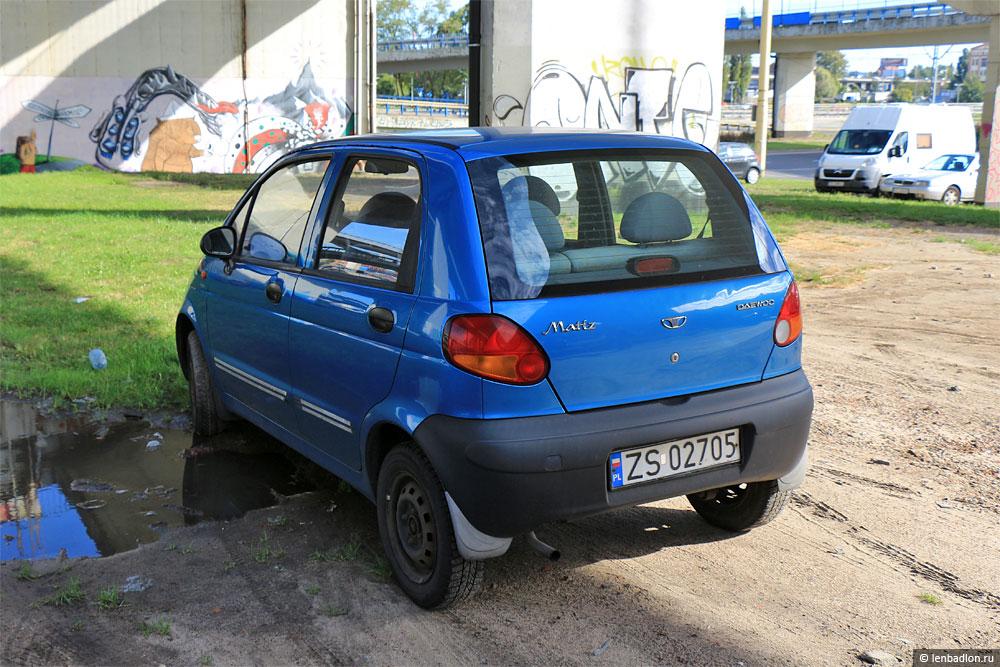 Фото автомобиля Daewoo Matiz в Польше