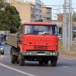 Фото грузовика в Польше