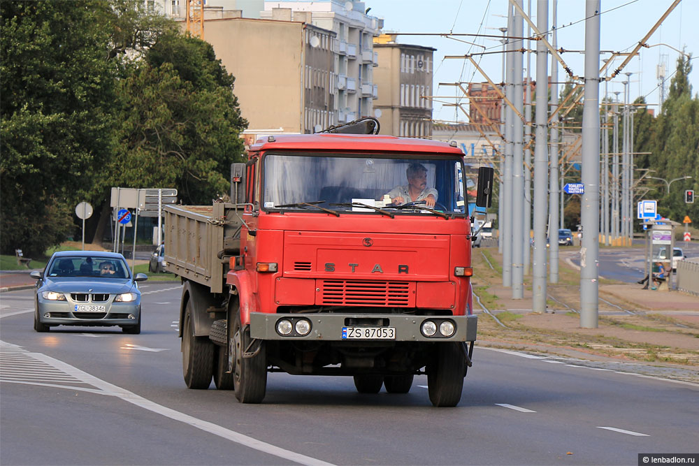 Фото грузовика Star 1142 в Польше