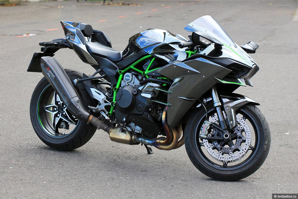 Фото мотоцикла Kawasaki Ninja H2 в Польше