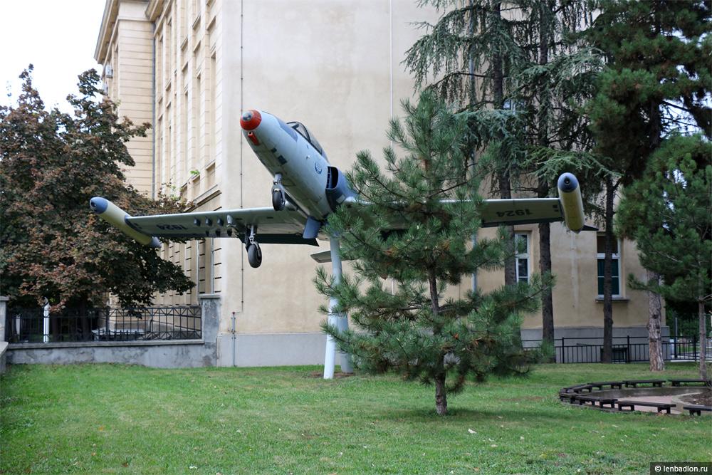 Фото самолета в Белграде