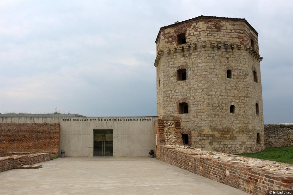 Башня Небойша в Белграде
