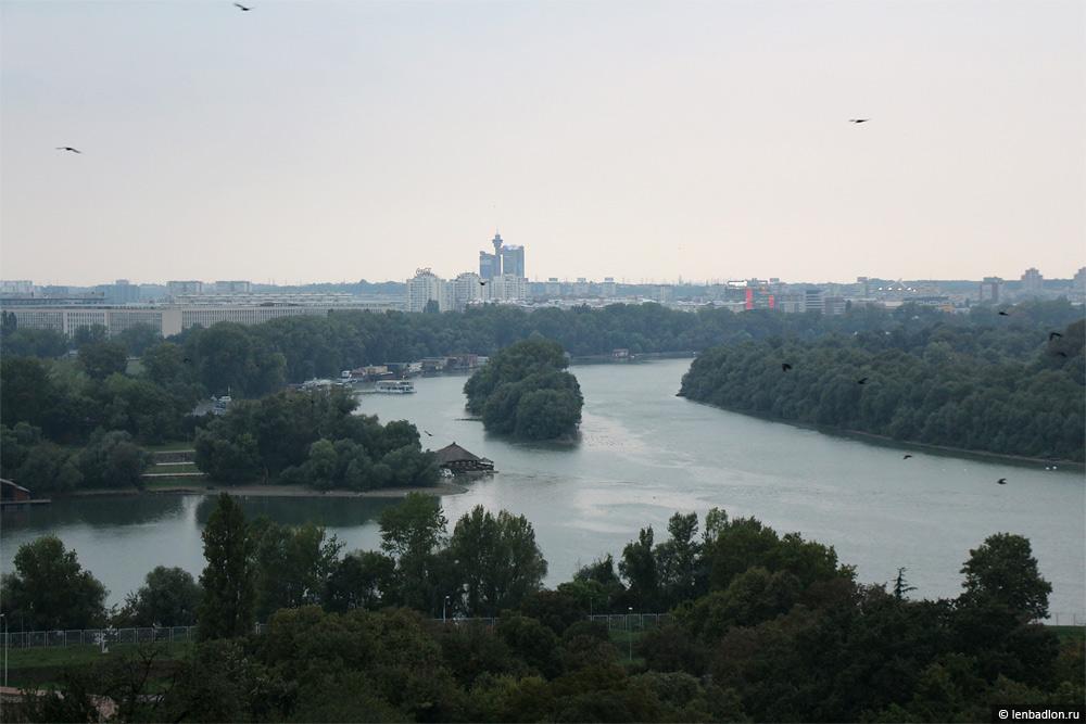Вид на Белград из крепости