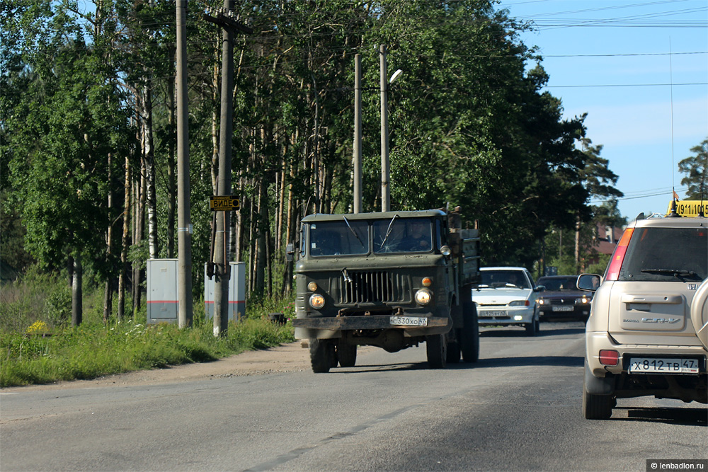 Фото грузовика ГАЗ-66 в Кингисеппе