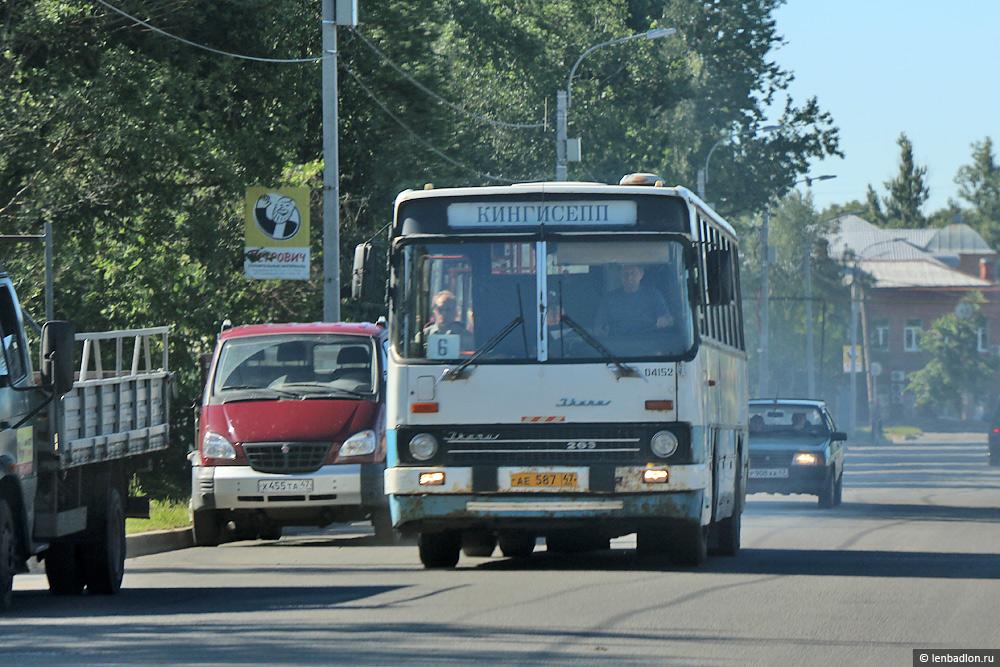 Фото автобуса Ikarus 263.10 в Кингисеппе