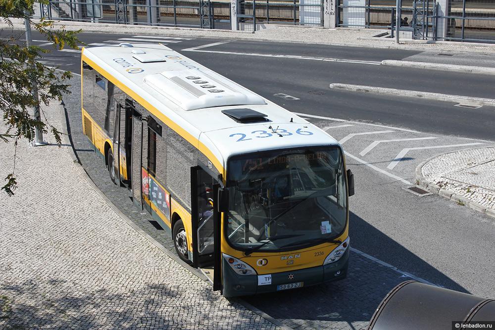 Фото Лиссабонского автобуса