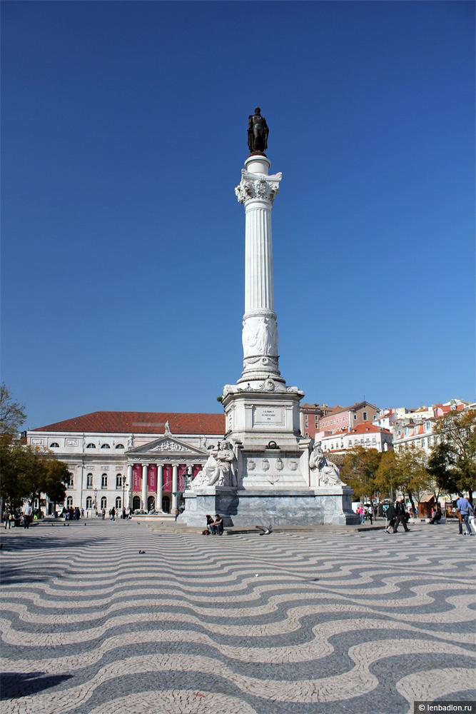 Статуя Педру IV