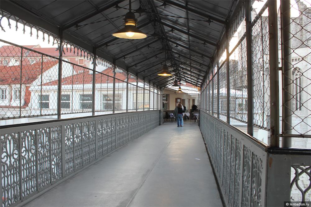 Лифт Элевадор-ди-Санта-Жушта