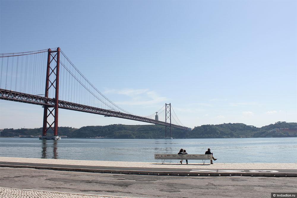 Фото моста имени 25 апреля