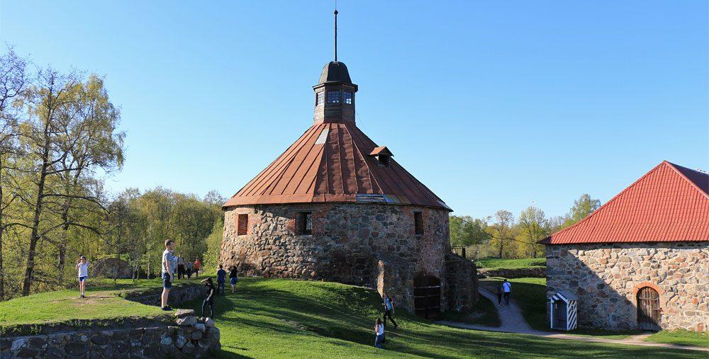 Фото крепости Корела в Приозерске