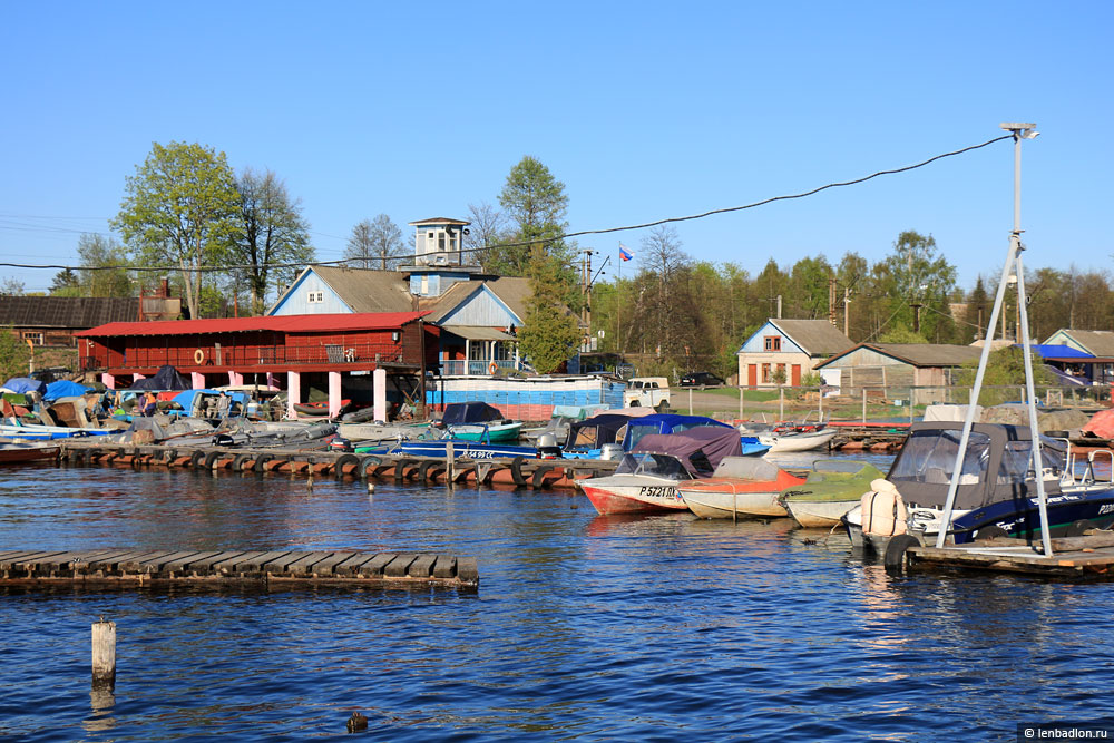 Водно-моторный клуб на озере Вуокса