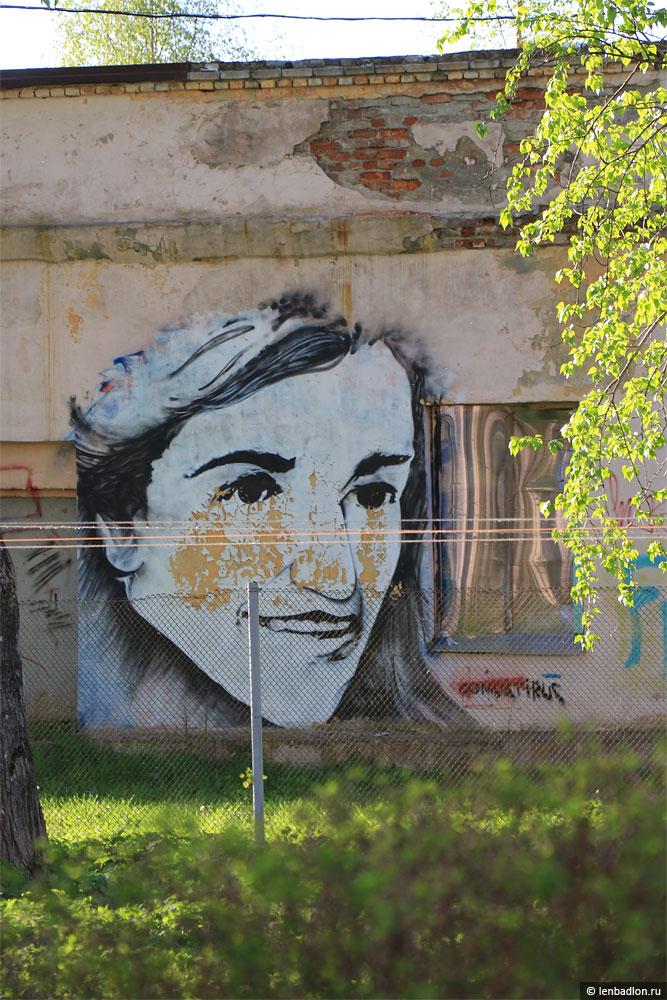 Фото граффити в Приозерске