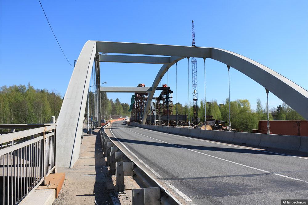 Фото моста в Лосево