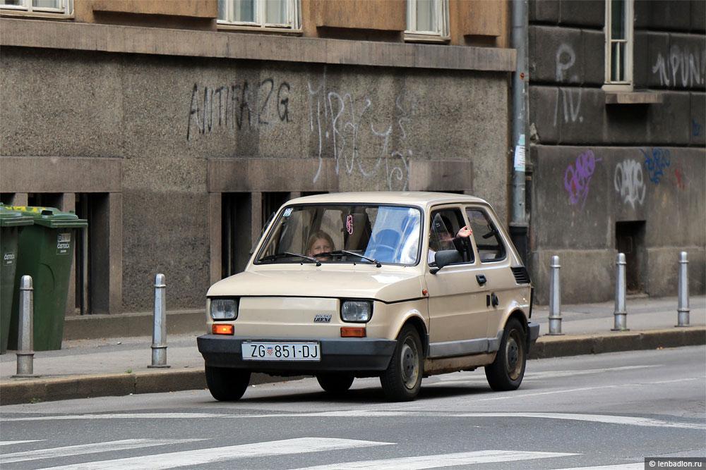 Фото Polski Fiat 126p в Хорватии