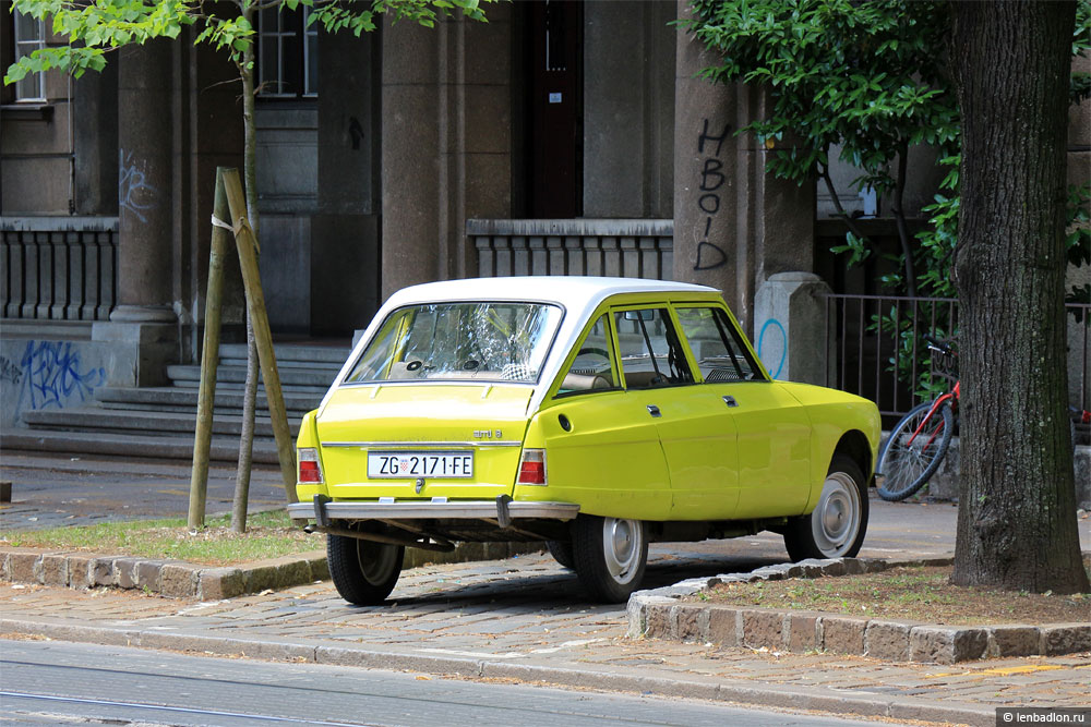Фото Citroën Ami 8 Berline в Хорватии