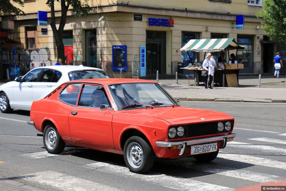 Фото Fiat 128 Sport в Хорватии