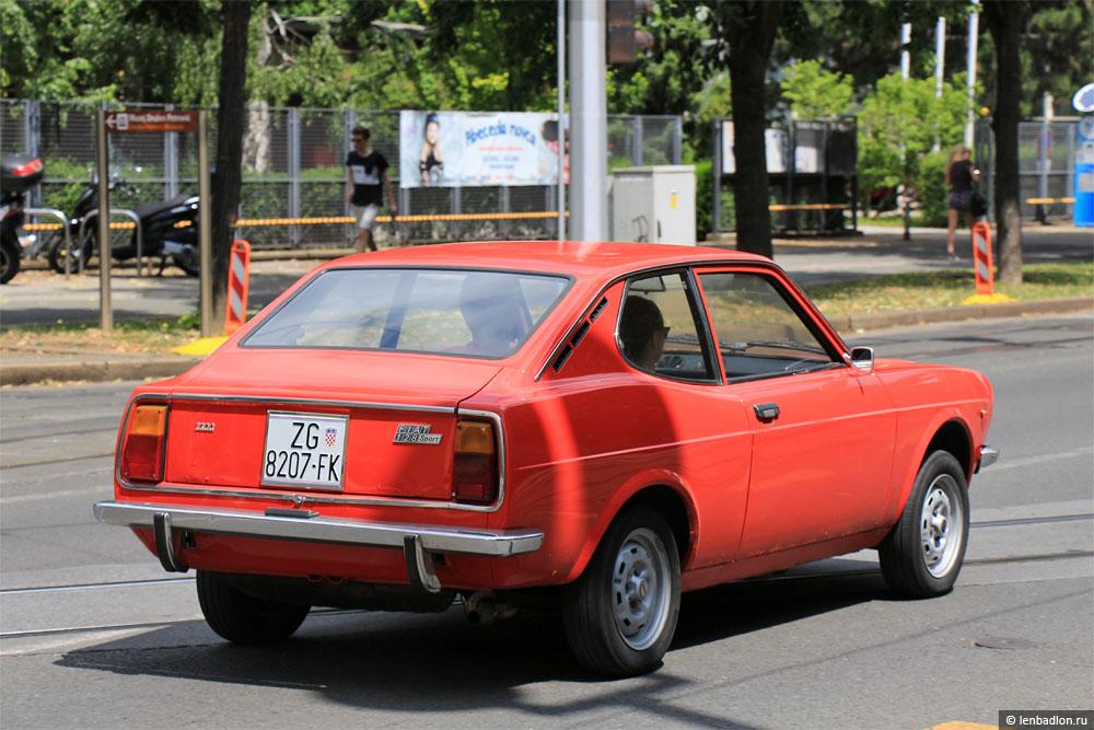 Фото Fiat 128 Coupé в Хорватии