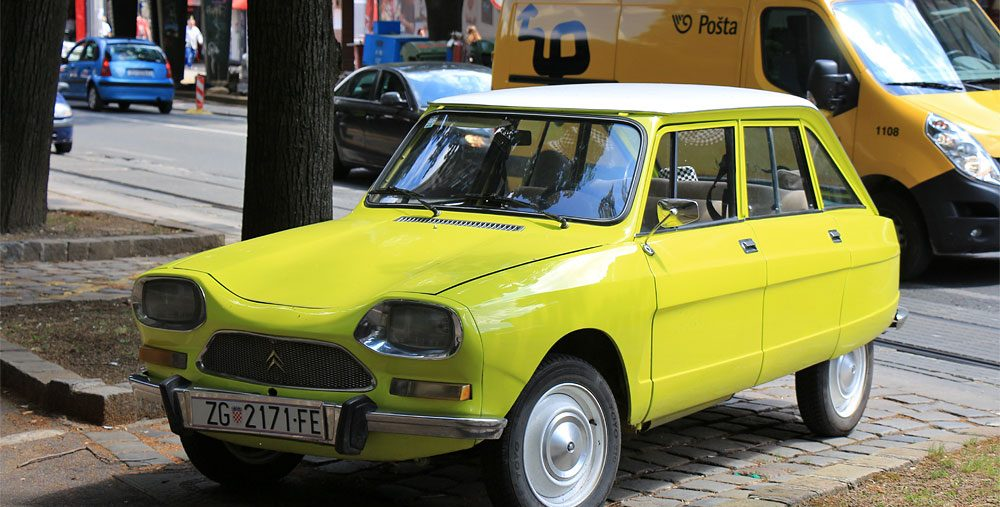 Фото автомобиля в Хорватии