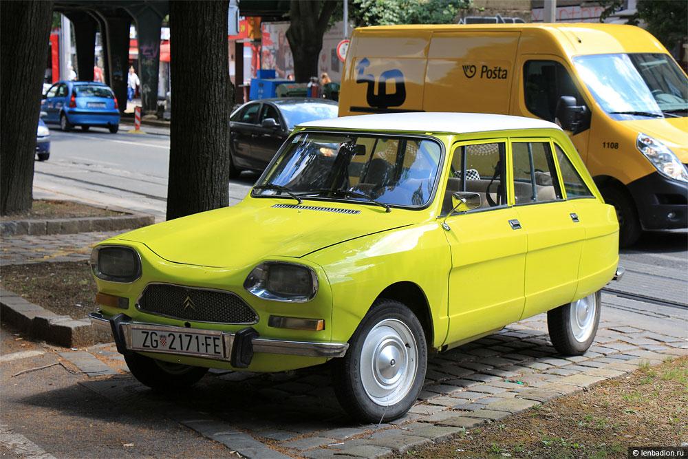 Фото Citroën Ami 8 Berline в Хорватии