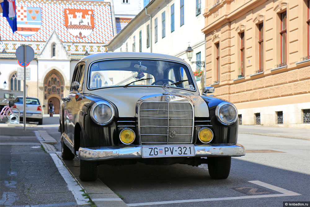 Фото Mercedes-Benz W121 190D в Хорватии