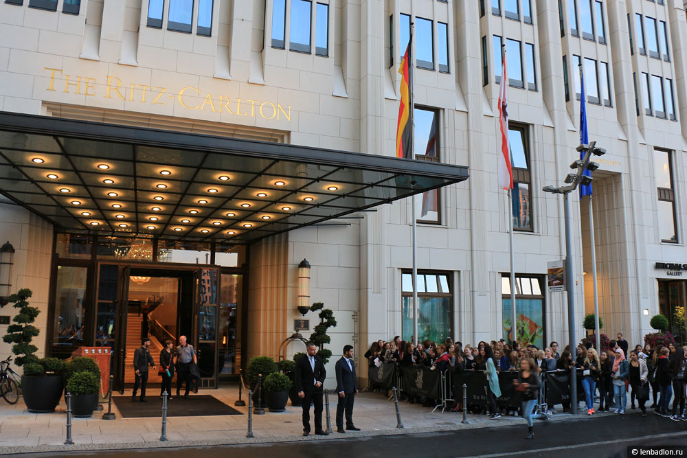 Фото отеля Ритц-Карлтон в Берлине