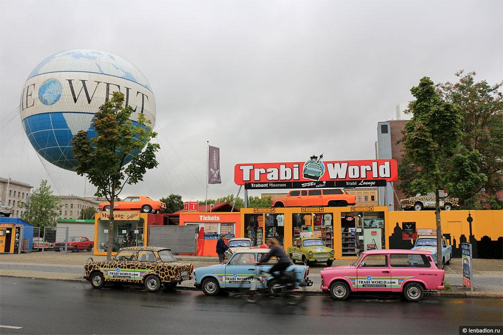 Фото музея Мир Траби в Берлине