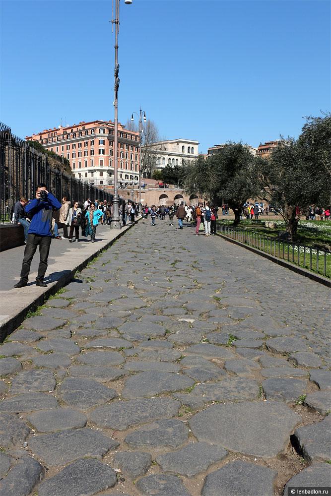 Римская дорога фото